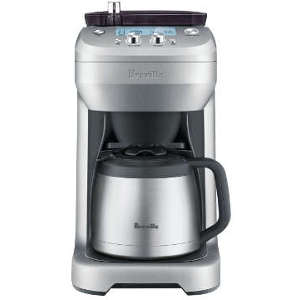 Coffee Maker Thermal Carafe Vs Glass : Best Breville Coffee Maker with Grinder Review